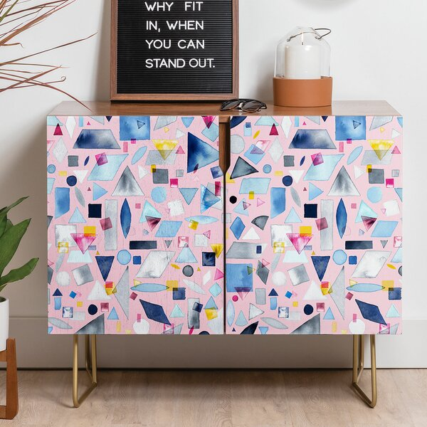 Ninola Geometric Credenza by East Urban Home East Urban Home