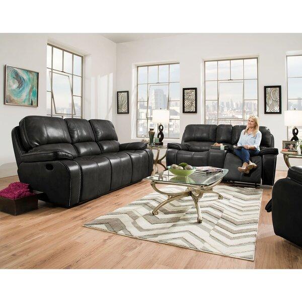 Weddington Reclining 2 Piece Living Room Set by Latitude Run