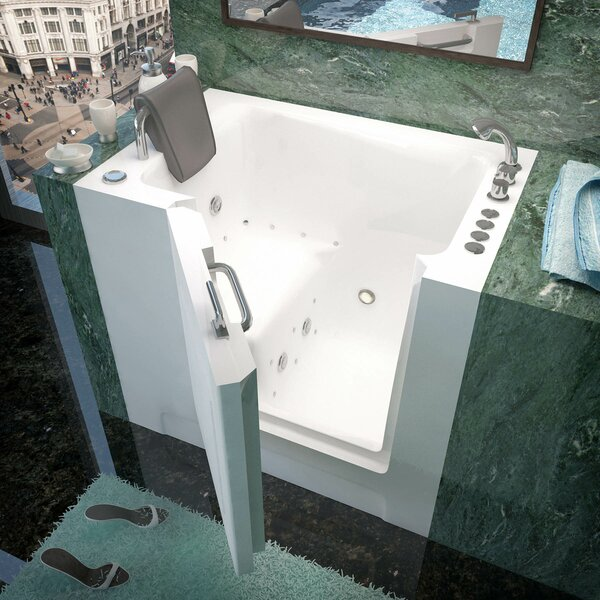 Catalina 39 x 27 Whirlpool & Air Jetted Bathtub by Therapeutic Tubs