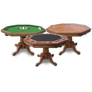 Octagon Bumper Pool Table | Wayfair