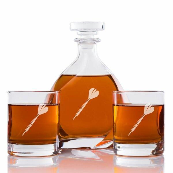 Alyn Dart Engraved 3 Piece Beverage Serving Set by Red Barrel Studio