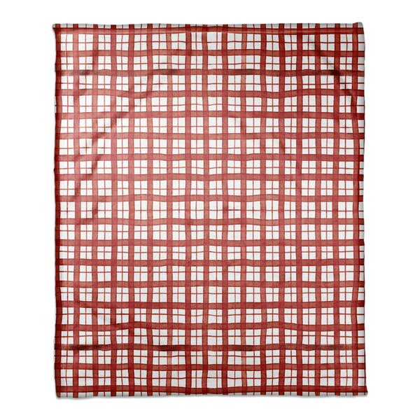Gaddy Christmas Plaid Coral Fleece Blanket by August Grove
