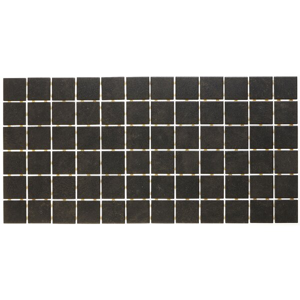 Fairfield 12 x 24 Ceramic Mosaic Tile in Charcoal by Itona Tile