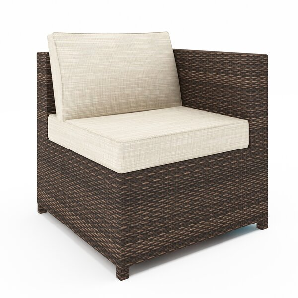 Lafollette Patio Chair with Sunbrella Cushions by Ivy Bronx