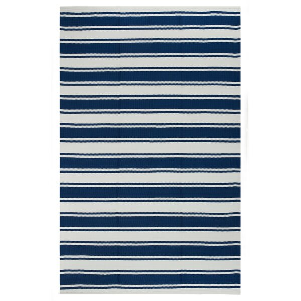 Zen Blue Indoor/Outdoor Area Rug by Fab Habitat