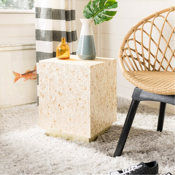 Heideman Mosaic End Table by Mercer41