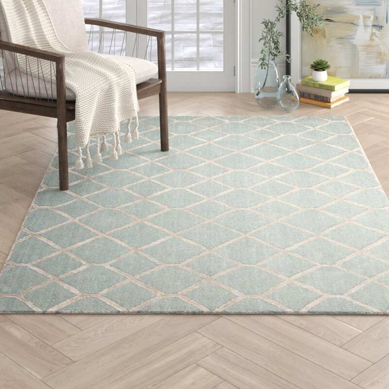 Zoey Hand Tufted Sage Area Rug