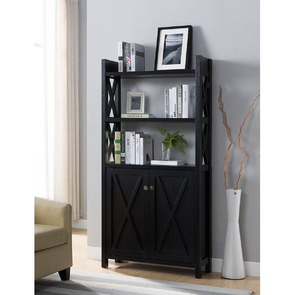 Ainslee Laminate Wood Standard Bookcase By Gracie Oaks