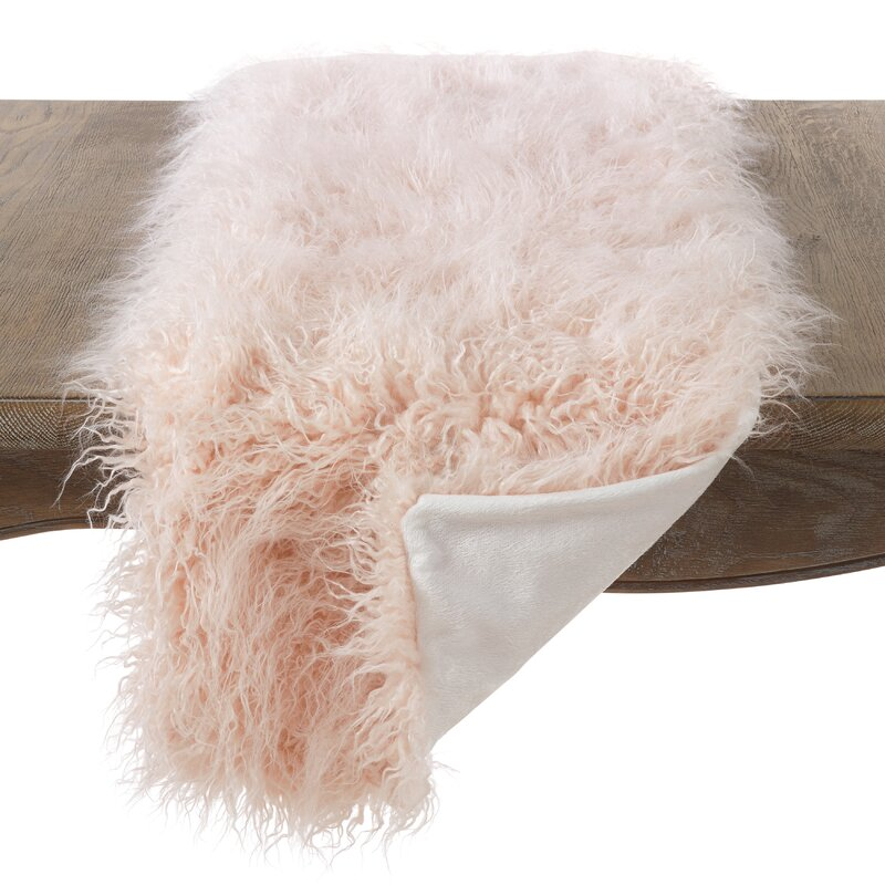 Lawless Faux Fur Table Runner