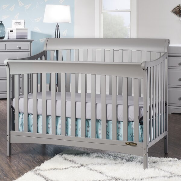 Ashton 4-in-1 Convertible Crib by Child Craft