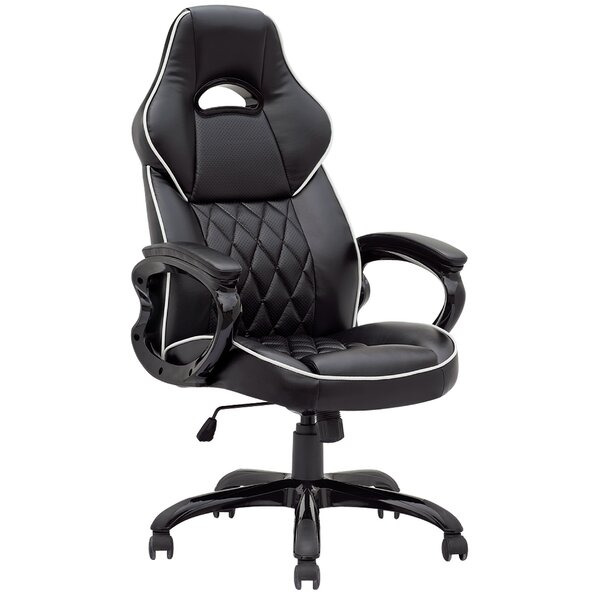 Rohoman Gaming Racing Style High-Back Executive Chair by Ebern Designs