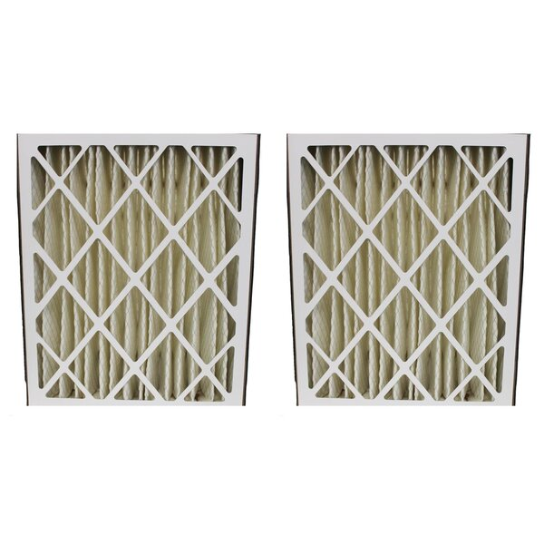 PK Ultravation Pleated Furnace Air Filter (Set of 2) by Crucial