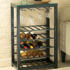 Burman 25 Bottle Floor Wine Rack by Orren Ellis