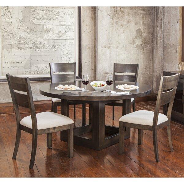 Hazelton 5 Piece Solid Wood Dining Set by Gracie Oaks