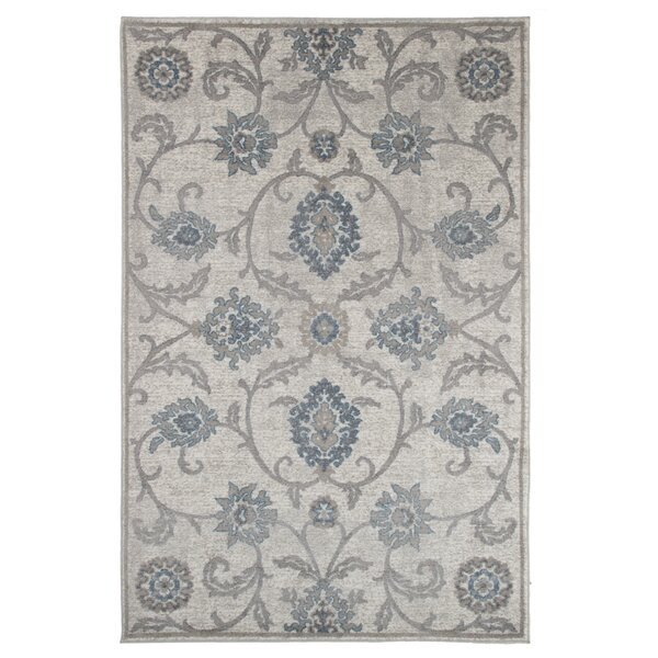 Ivory/Brown Area Rug by Lavish Home