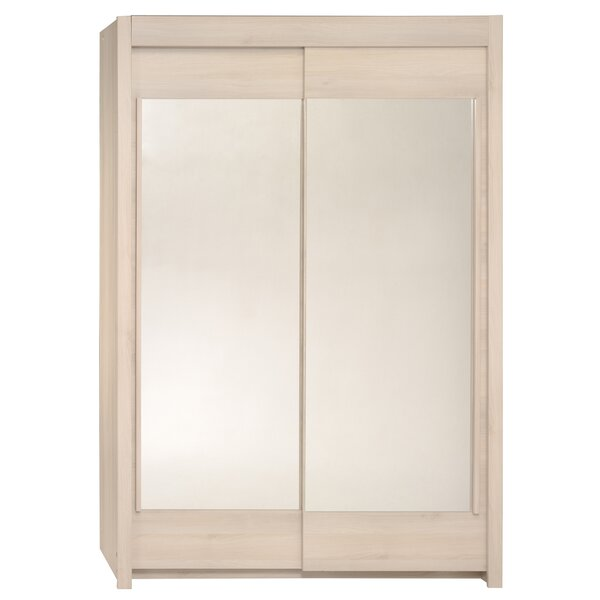 Burnette 2 Door Wardrobe Armoire by Trule Teen