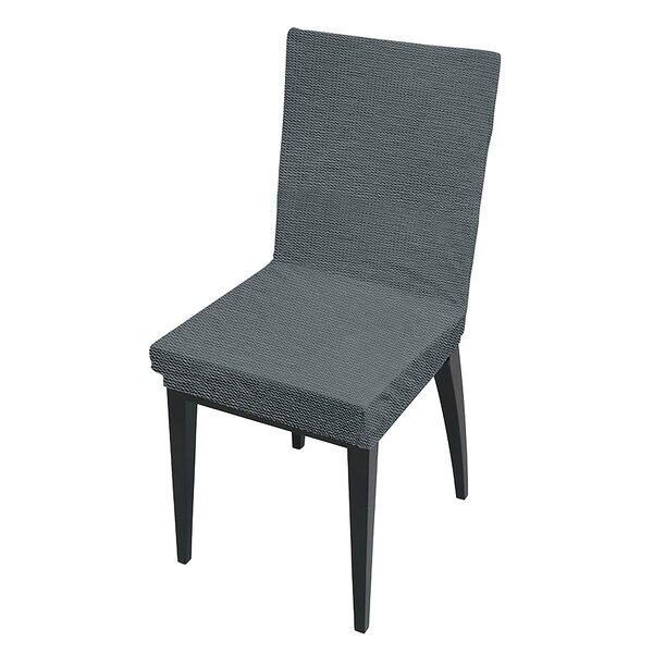 Box Cushion Dining Chair Slipcover by Ebern Designs