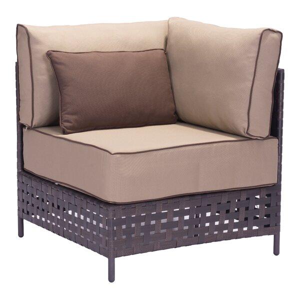 Sonja Corner Chair by Latitude Run