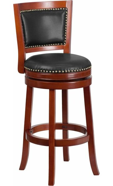 Jenkin 31'' Swivel Bar Stool by Charlton Home