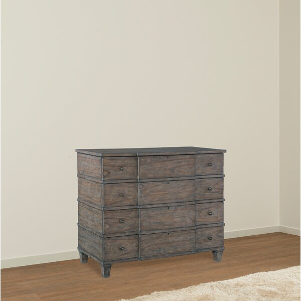 Laney 4 Drawer Media Chest by One Allium Way