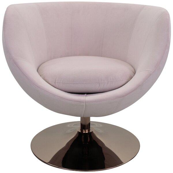 Steinman Swivel Barrel Chair By Latitude Run Amazing