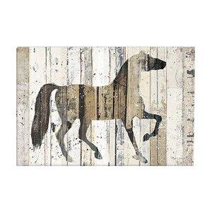 'Dark Horse' Graphic Art Print by Laurel Foundry Modern Farmhouse