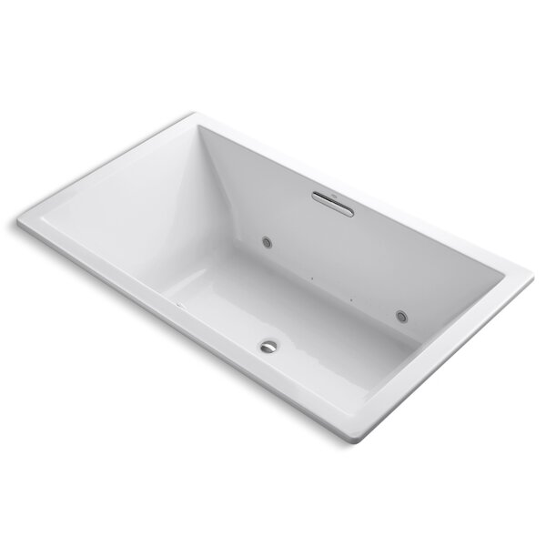 Underscore Bubblemassage 72 x 42 Whirpool Bathtub by Kohler