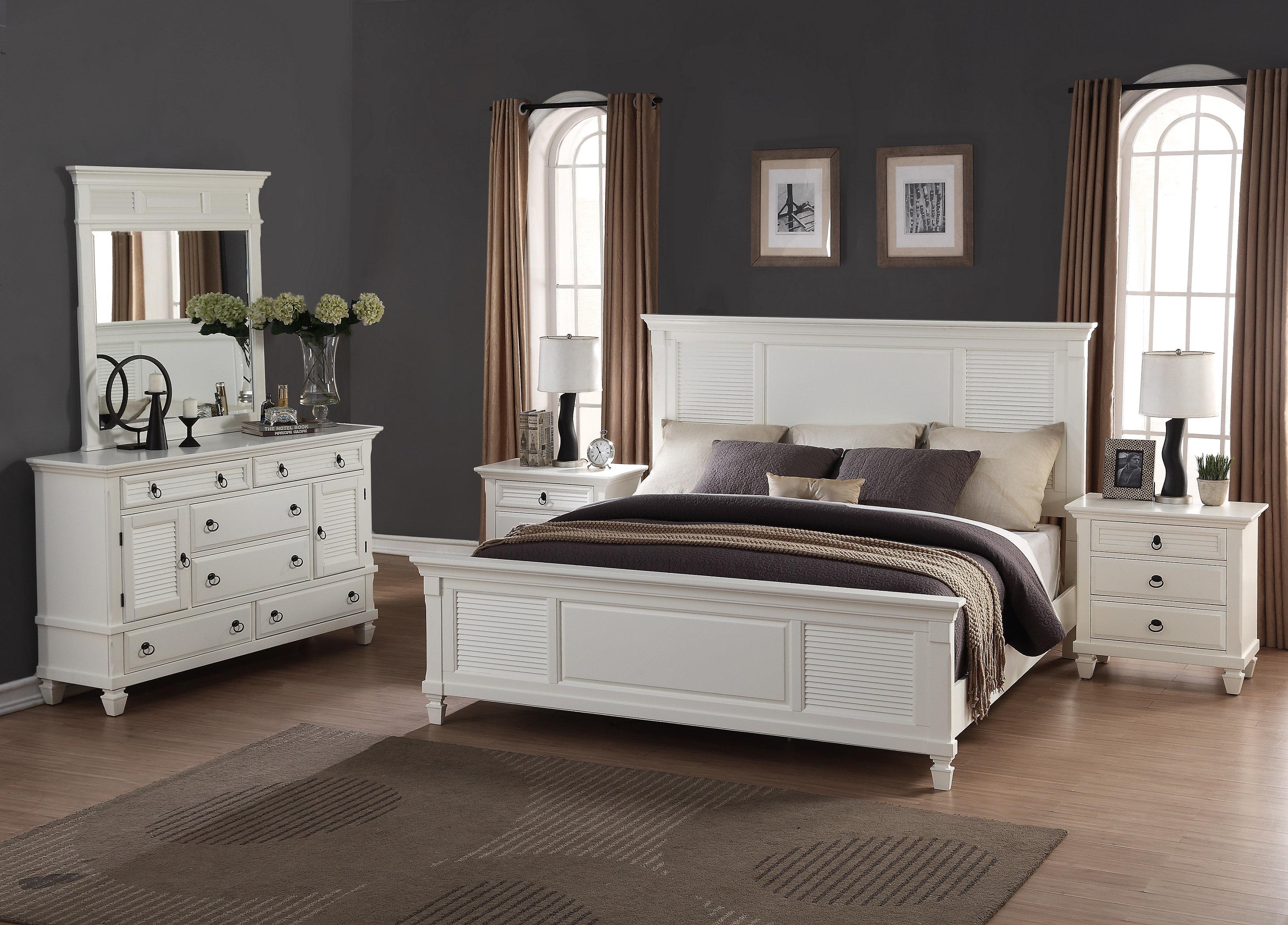 Perfect Roundhill Furniture Regitina King Platform 5 Piece Bedroom Set   Wayfair