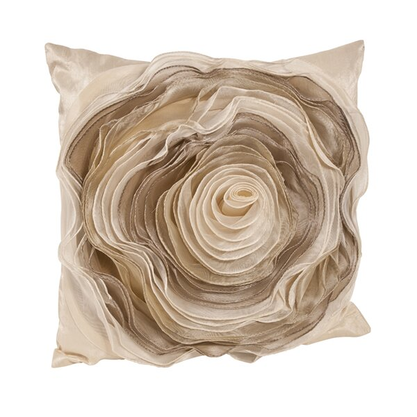 Rose Throw Pillow by Saro