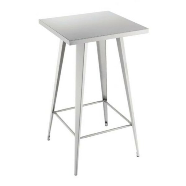 Mccracken Square Shaped Metal Pub Table by Williston Forge