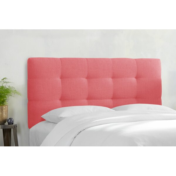 Ralphio Upholstered Panel Headboard by Latitude Run