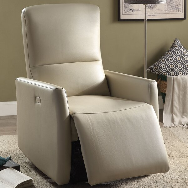 Raff Power Recliner by A&J Homes Studio