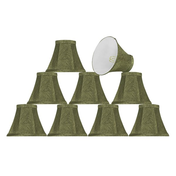 6'' Fabric Bell Lamp Shade (Set of 9) by Bay Isle Home
