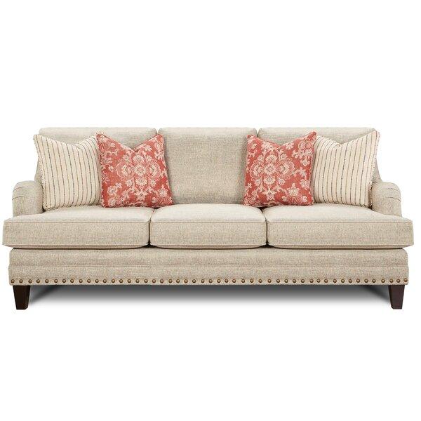 Gurdon Muslin Sofa by Darby Home Co
