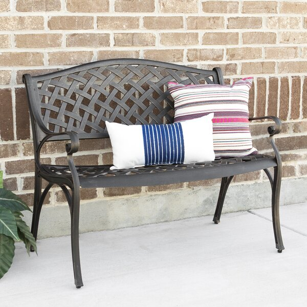 Cast Aluminum Garden Bench by Darby Home Co
