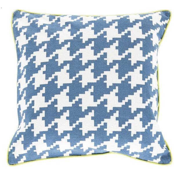 Alldredge Cotton Throw Pillow by Three Posts