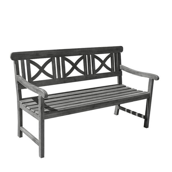 Densmore Wooden Garden Bench by Darby Home Co