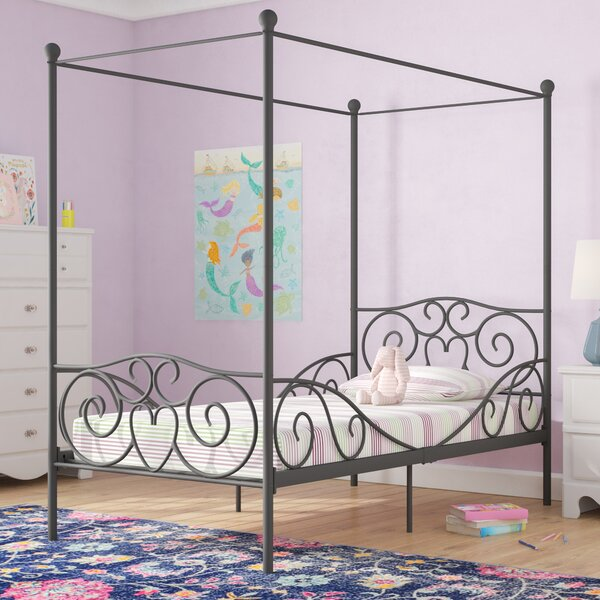 Best Choices Biggerstaff Canopy Bed By Zoomie Kids 2019 Sale