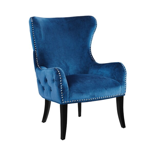 Schwartz Wingback Chair By Mercer41 #1