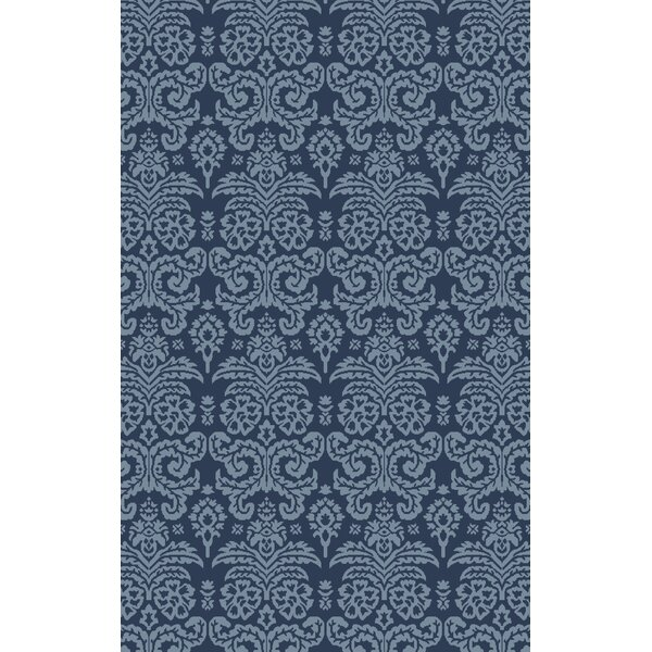 Batley Hand Woven Blue Area Rug by House of Hampton