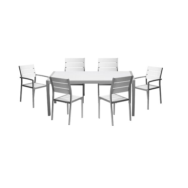 Marielle 7 Piece Dining Set by Brayden Studio