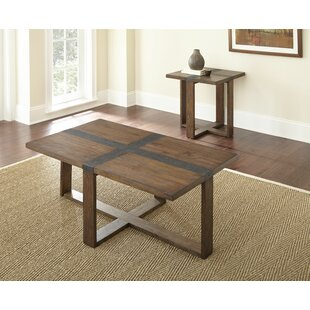 Pine Mountain 2 Piece Coffee Table Set Loon Peak