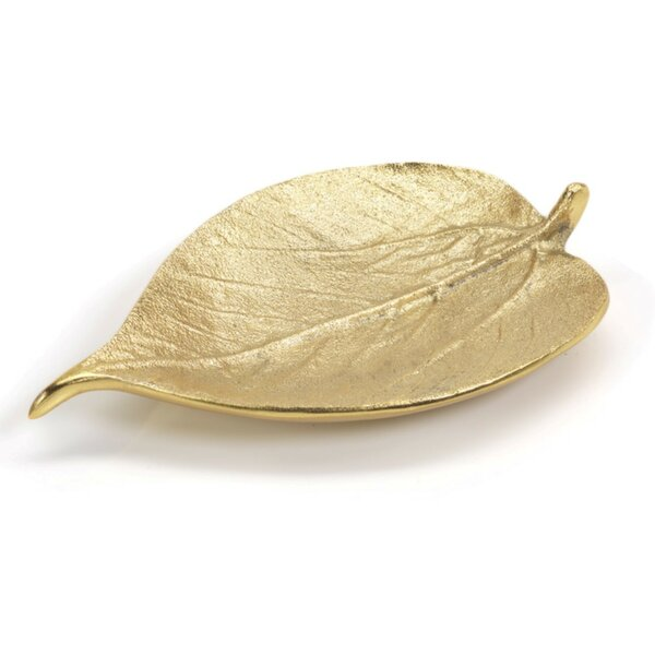 Auserine Mulberry Leaf Decorative Plate (Set of 4)