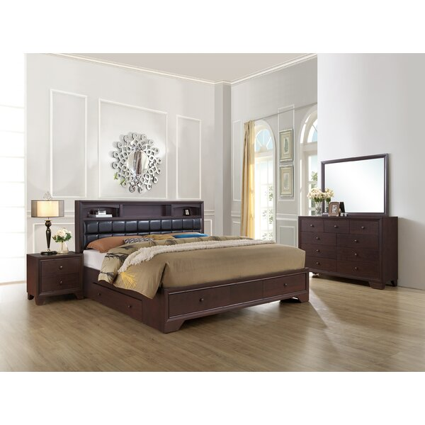 Angarano Upholstered Storage Panel Configurable Bedroom Set by Alcott Hill