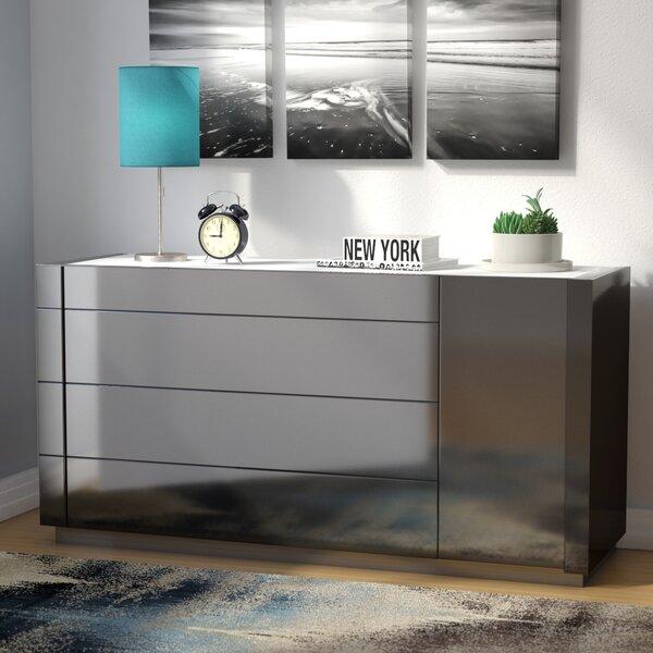 Boyertown 4 Drawer Dresser by Wade Logan