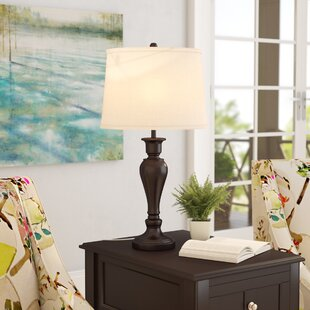 Buy clear Armington Metal 26.5 Table Lamp By Three Posts