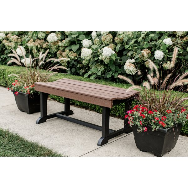 Heritage Plastic Picnic Bench by Winston Porter
