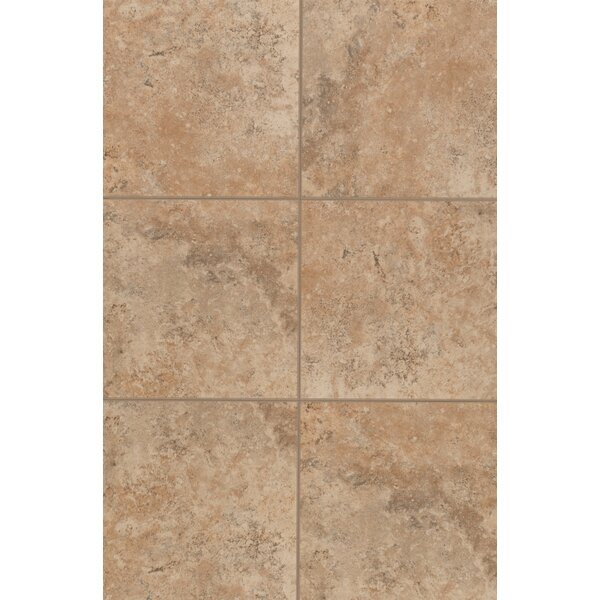 Medfordton Floor Glazed 13 x 13 Porcelain Field Tile in Golden Prairie by Mohawk Flooring