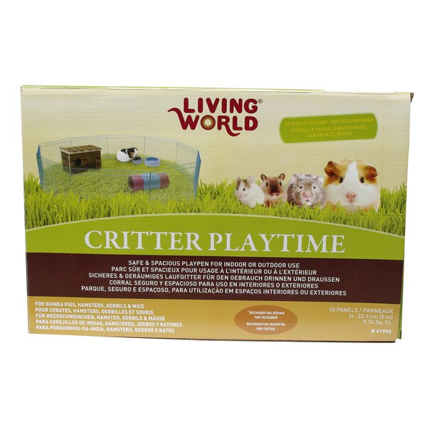 Living World Critter Playtime Small Animal Playpen by Living World by Hagen