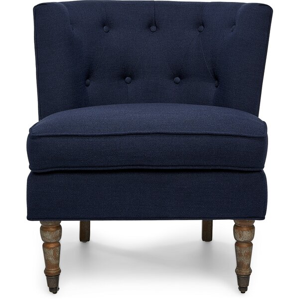 Banbury Tufted Accent Slipper Chair by Charlton Home